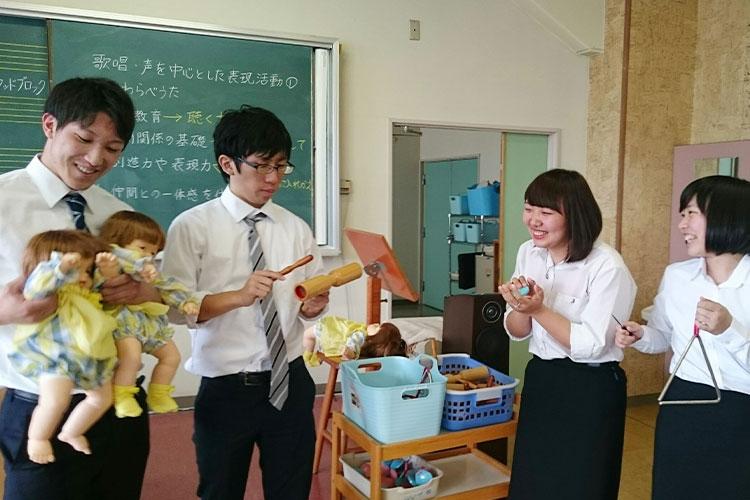 柴田学園大学短期大学部 保育科 教職(幼稚園)課程